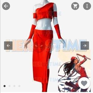 Tops - Elektra Natchios Marvel Costume